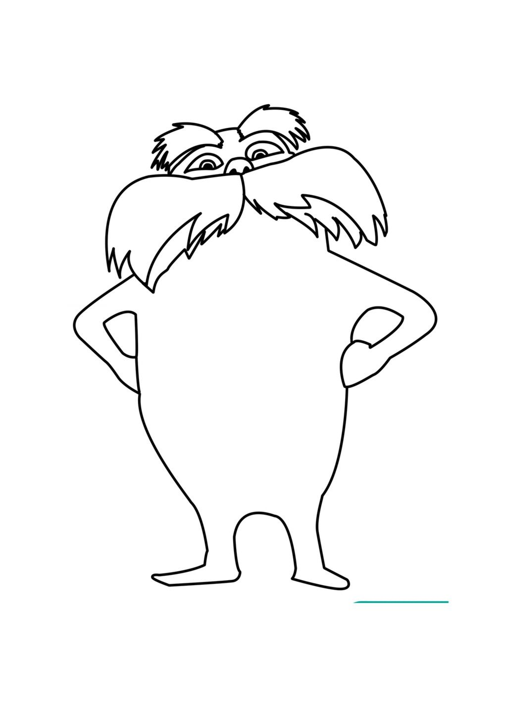 lorax coloring sheet lorax coloring pages the lorax dr seuss coloring pages coloring lorax sheet