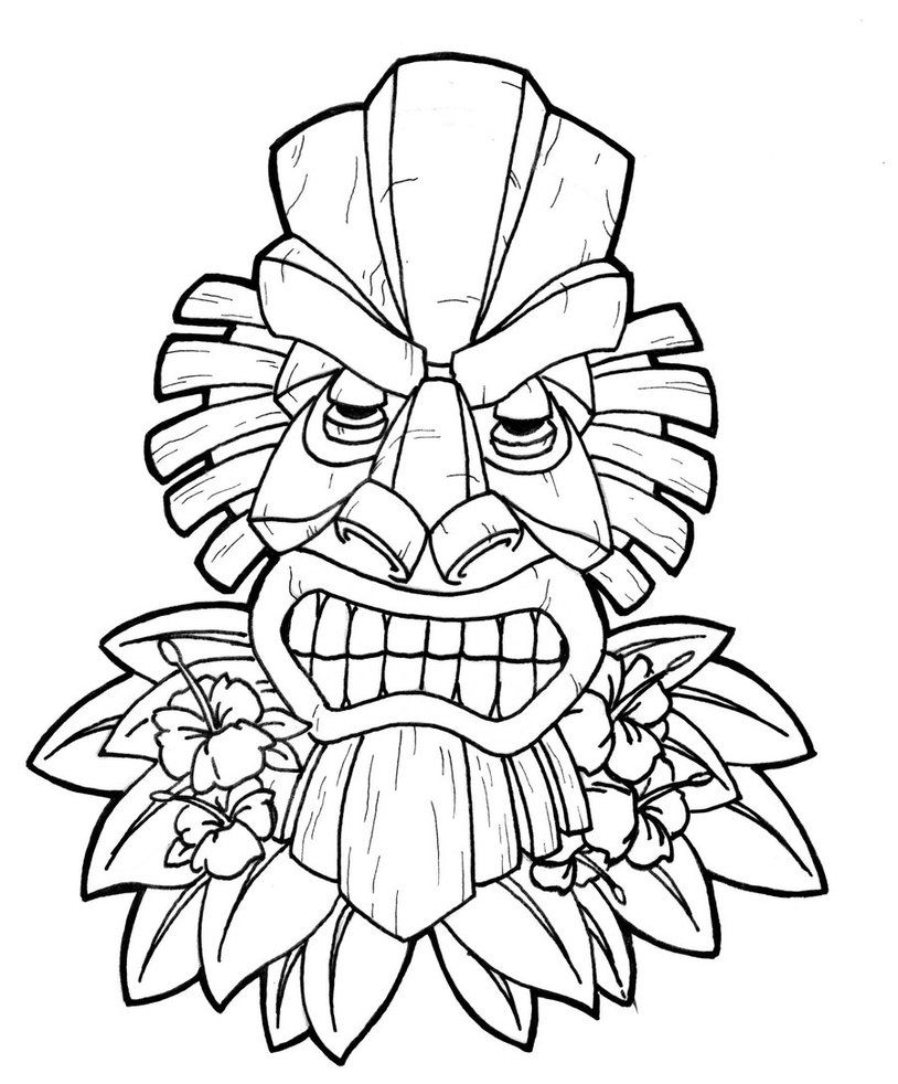 luau coloring pages luau coloring pages free printables coloring home pages luau coloring