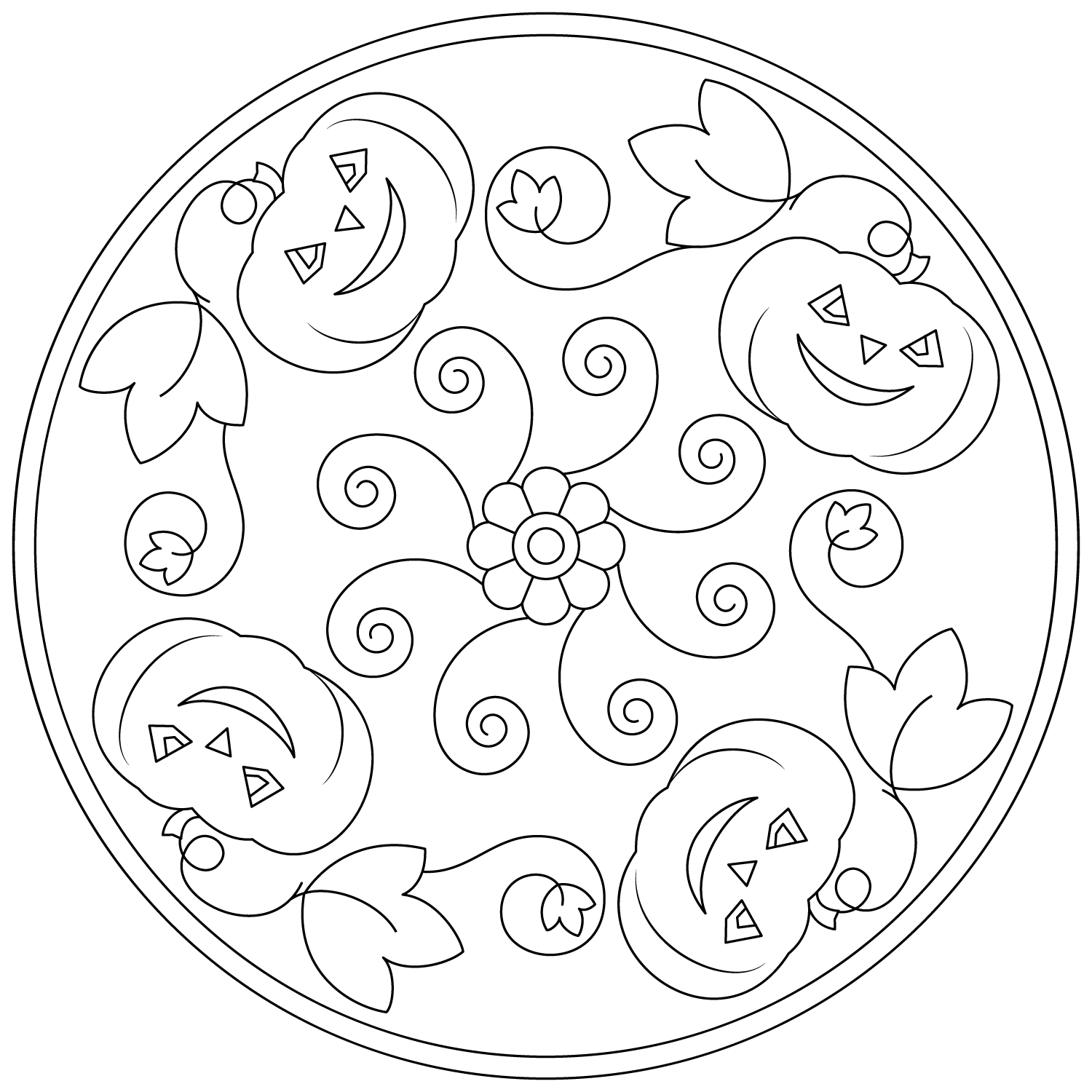 mandala halloween mandala coloring page halloween mandala coloring pages halloween mandala