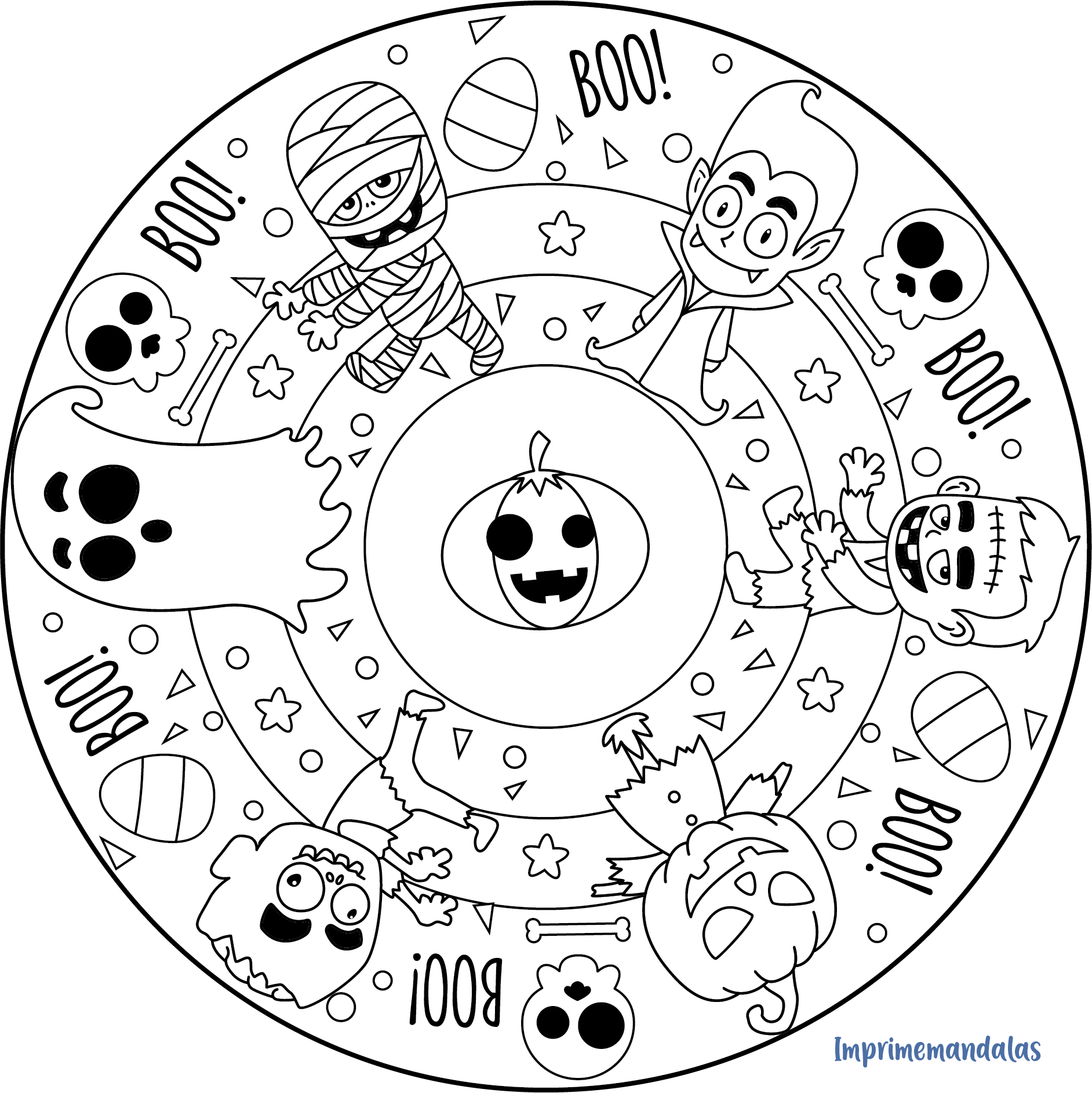mandala halloween print halloween mandala with coloring pages preschool halloween mandala