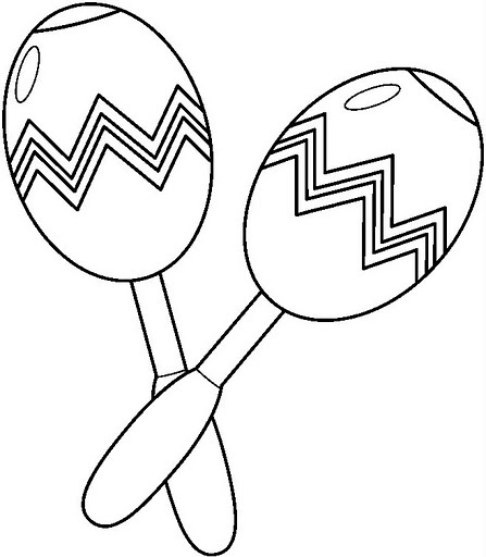maracas coloring page music colouring pages kiddicolour maracas coloring page
