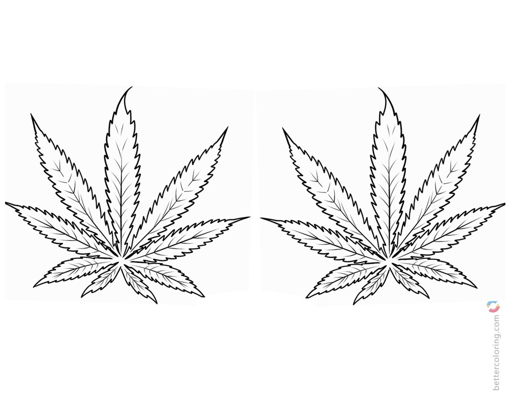 marijuana leaf coloring pages weed coloring pages weed leaf clip art free printable marijuana leaf coloring pages