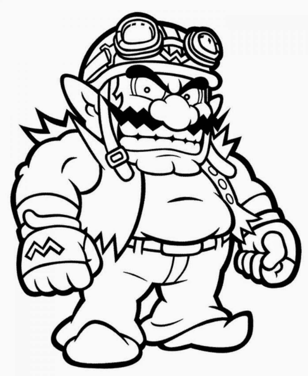mario picture to color mario coloring pages themes best apps for kids color to mario picture