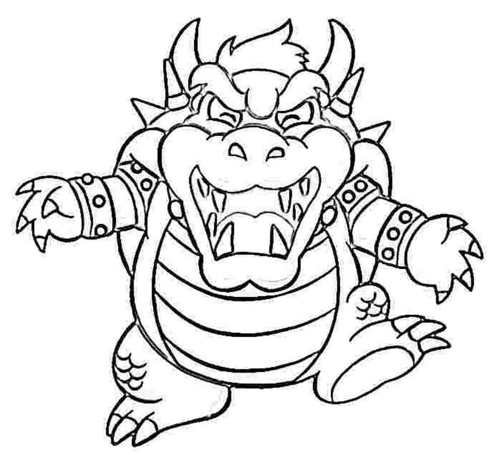 mario picture to color mario picture to color color picture to mario
