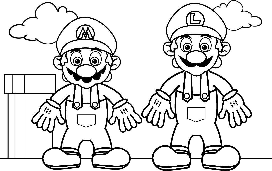 mario picture to color super mario coloring pages to mario picture color