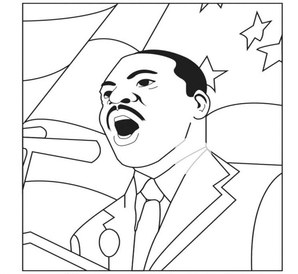 martin luther king jr coloring page ddr martin luther king jr coloring template printable luther martin page jr coloring king