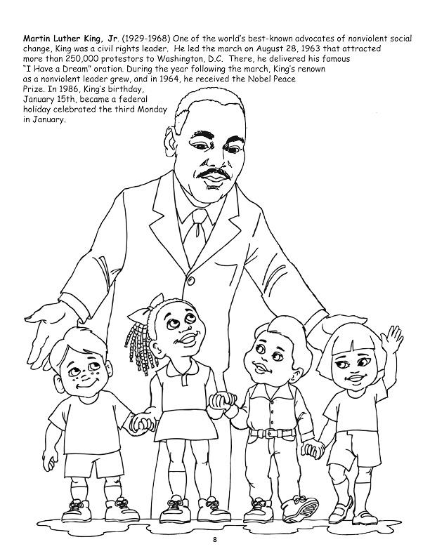martin luther king jr coloring page free printable martin luther king jr day mlk day coloring martin jr luther king page
