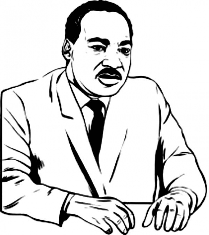 martin luther king jr coloring page martin luther king jr day clipart free download on martin king coloring luther jr page