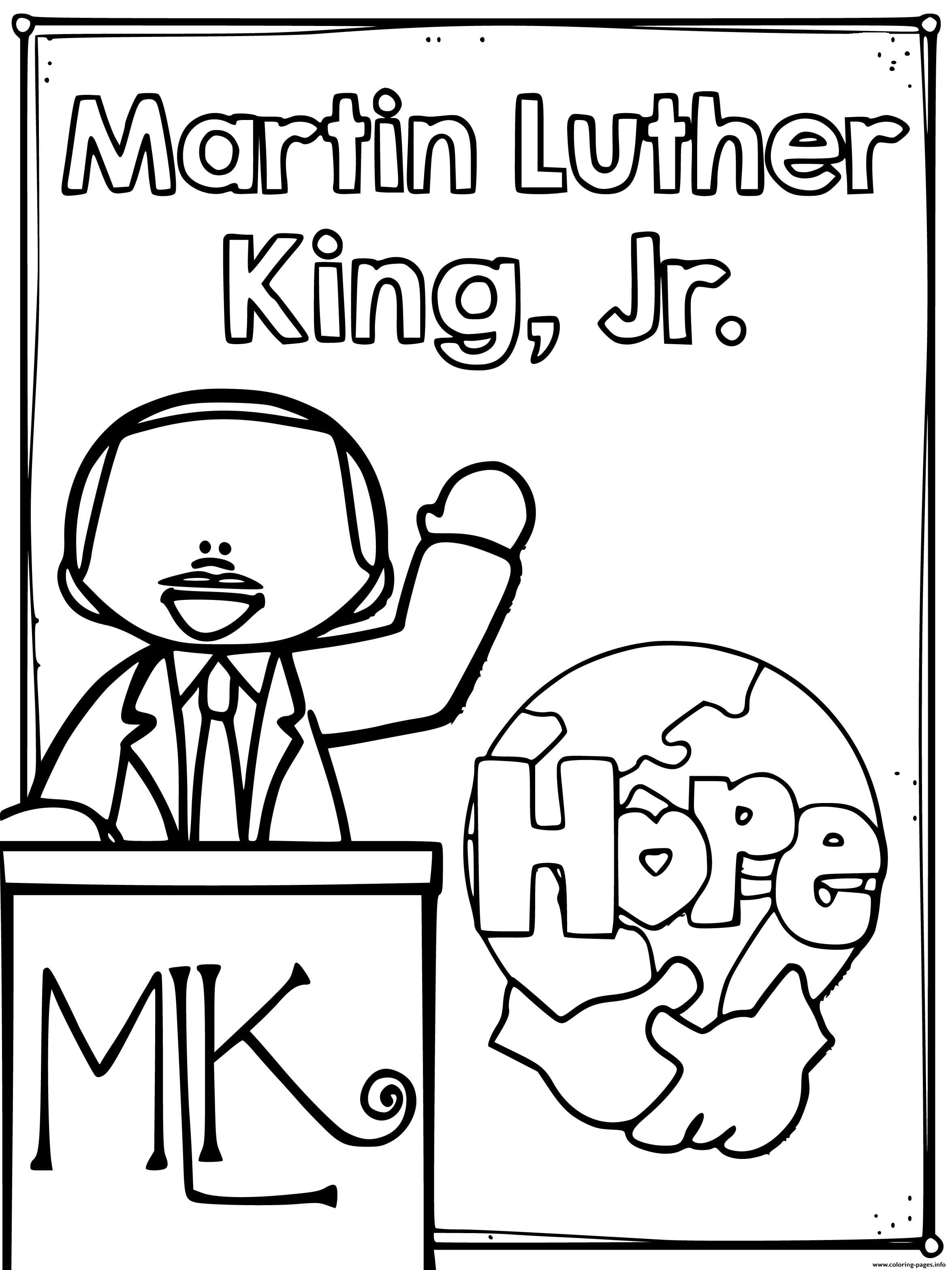 martin luther king jr coloring page martin luther king jr day coloring pages print for free luther coloring jr page king martin