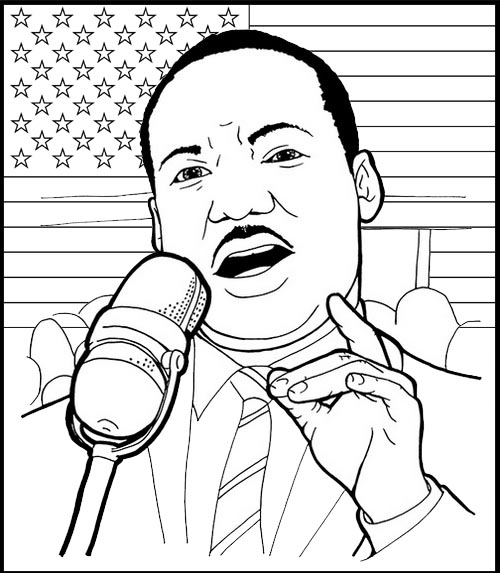 martin luther king jr coloring page martin luther king jr speech at lincoln memorial coloring page page jr martin coloring king luther