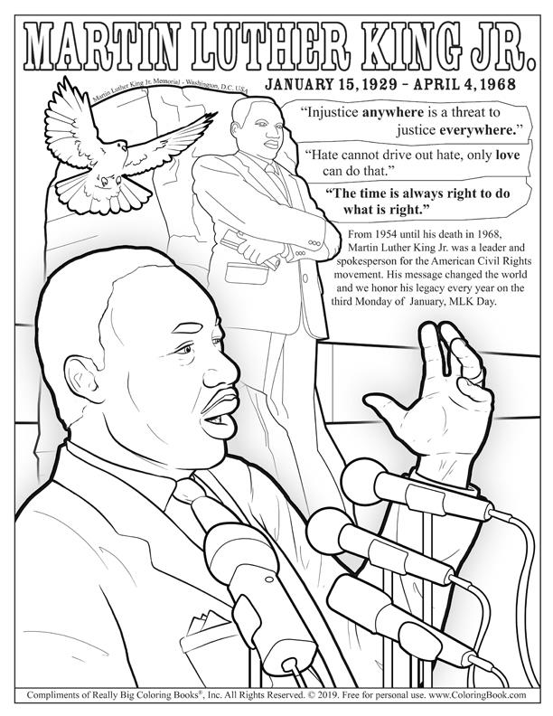 martin luther king jr coloring pages free coloring books dr martin luther king jr day free king pages luther martin coloring jr free