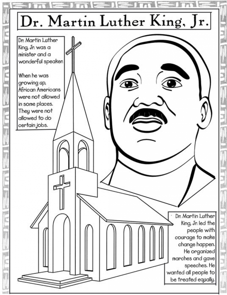 martin luther king jr coloring pages free ddr martin luther king jr coloring template printable pages luther free jr king martin coloring