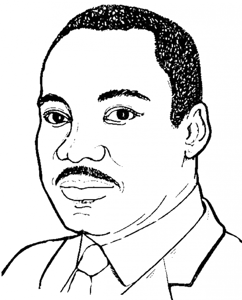 martin luther king jr coloring pages free free printable martin luther king jr day mlk day king luther coloring martin pages free jr