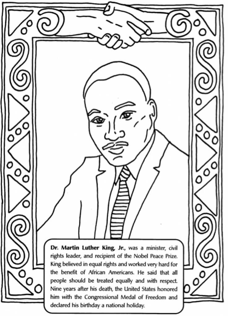 martin luther king jr coloring pages free martin luther king coloring pages learny kids pages jr king free luther coloring martin