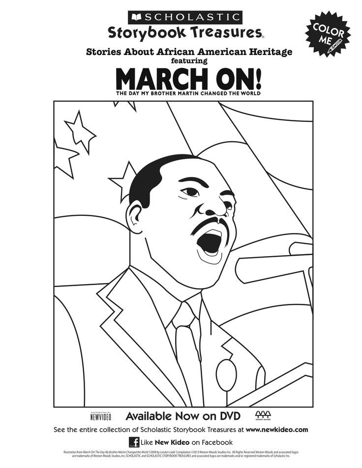 martin luther king jr coloring pages free scholastic printable march on martin luther king jr pages coloring jr martin king luther free