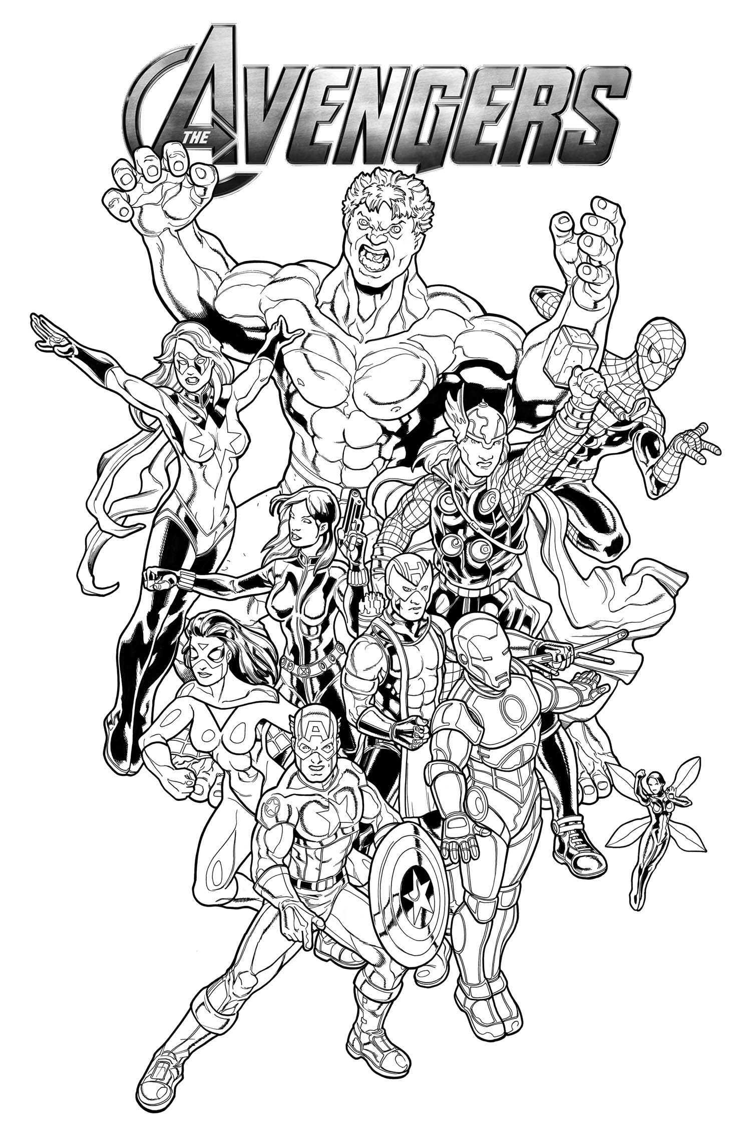 marvel coloring pictures avengers coloring pages print and colorcom marvel coloring pictures