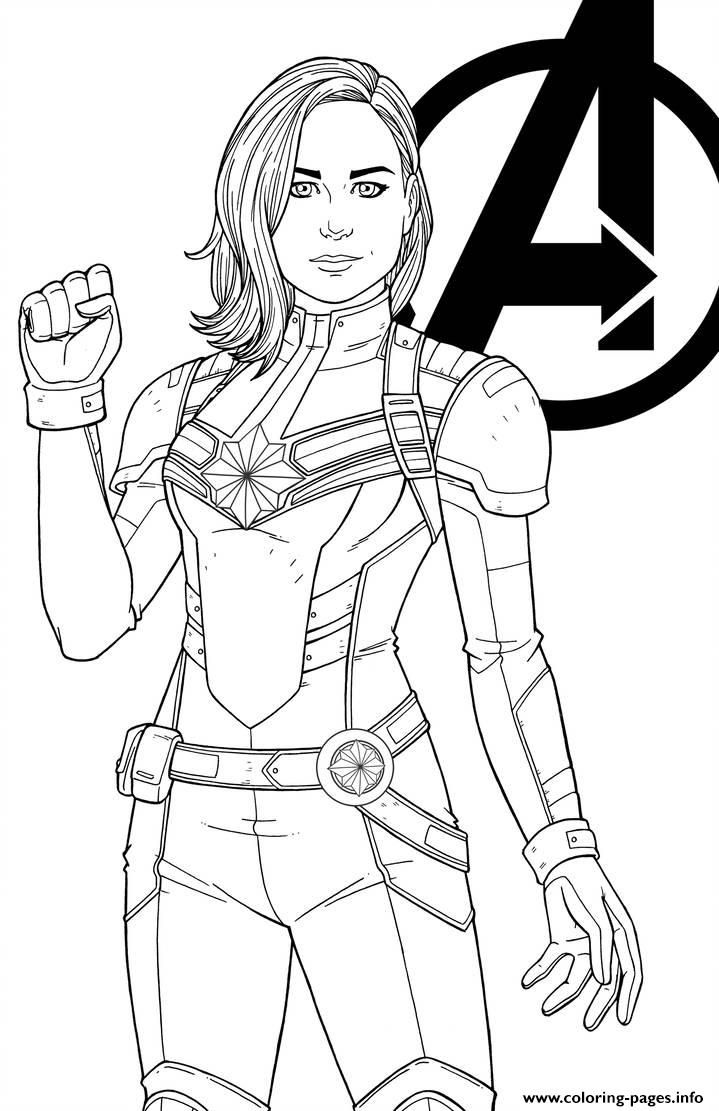 marvel printable coloring pages captain marvel captain marvel kids coloring pages pages marvel printable coloring