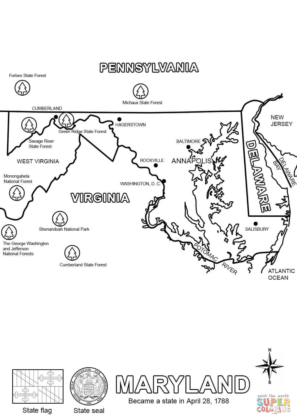 maryland coloring pages maryland coloring page coloring home coloring pages maryland