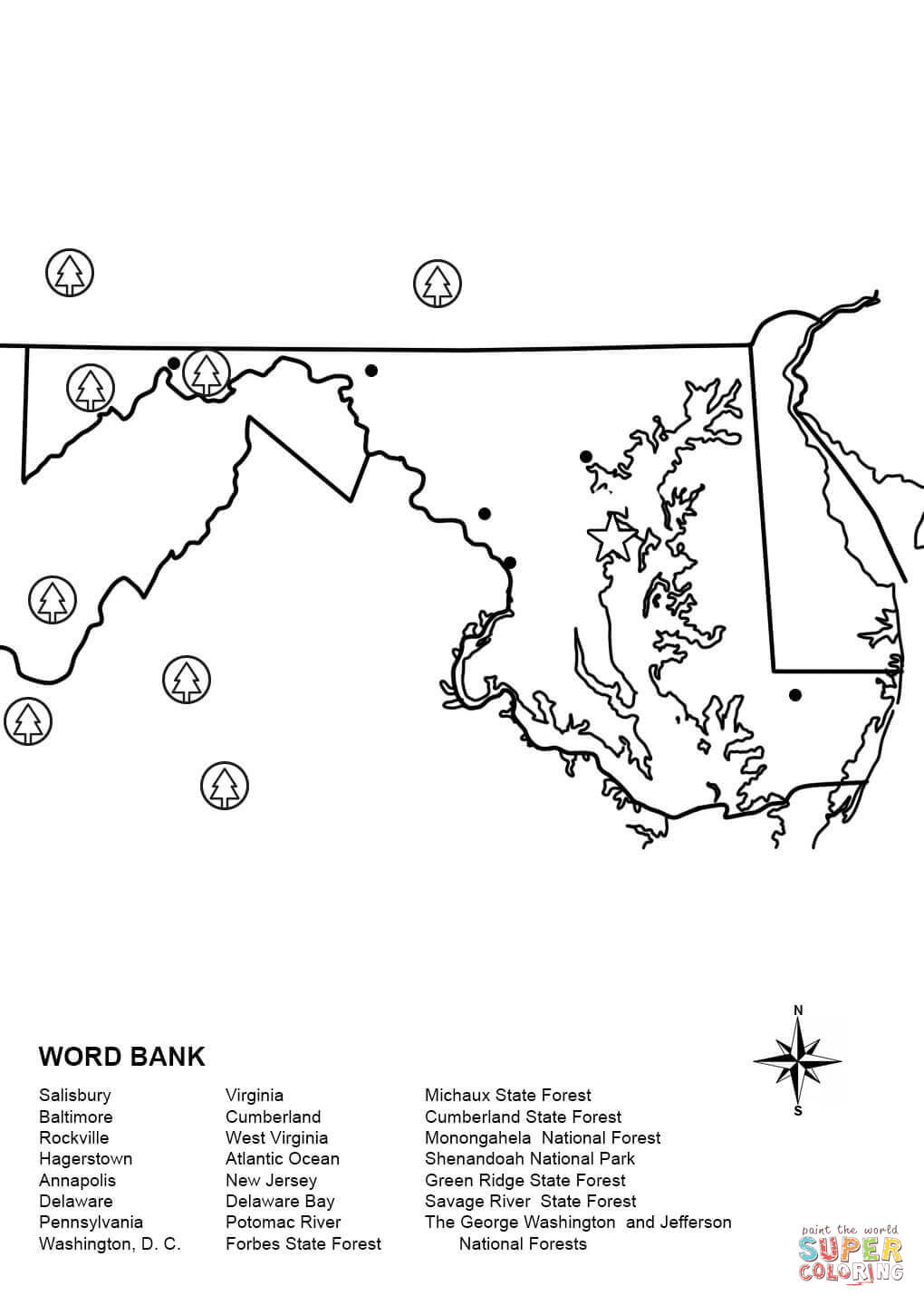 maryland coloring pages maryland coloring page coloring home coloring pages maryland 1 1
