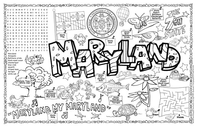 maryland coloring pages maryland flag coloring page luxury coloring maryland state coloring pages maryland