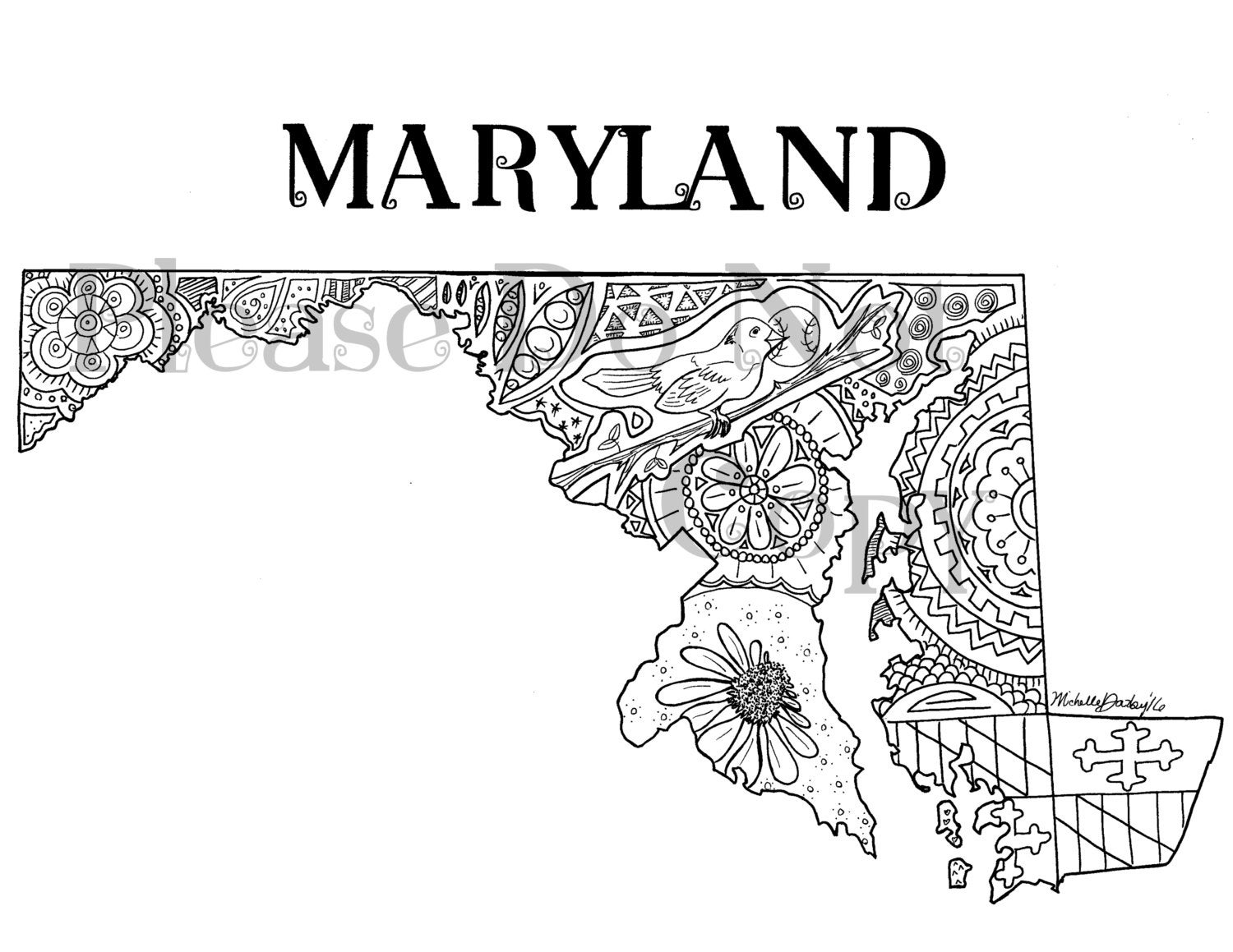maryland coloring pages maryland state flag coloring page coloring home pages coloring maryland