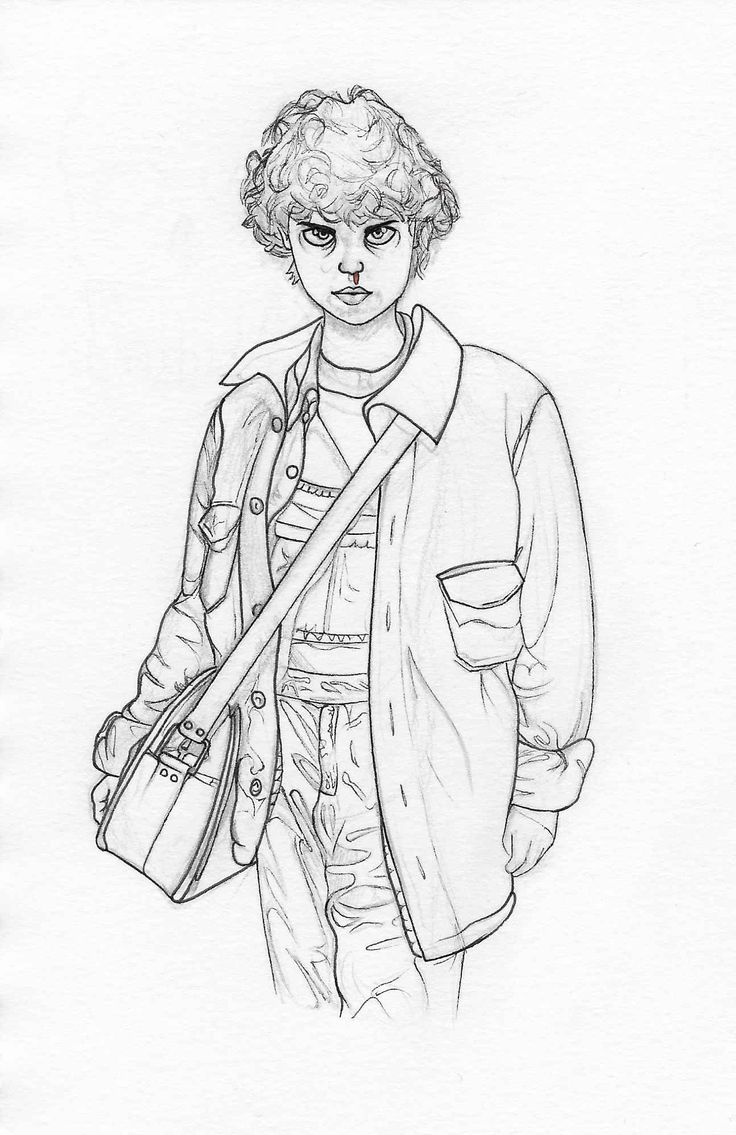 max stranger things coloring pages 011 eleven stranger things 2 paloma tapia things max pages stranger coloring