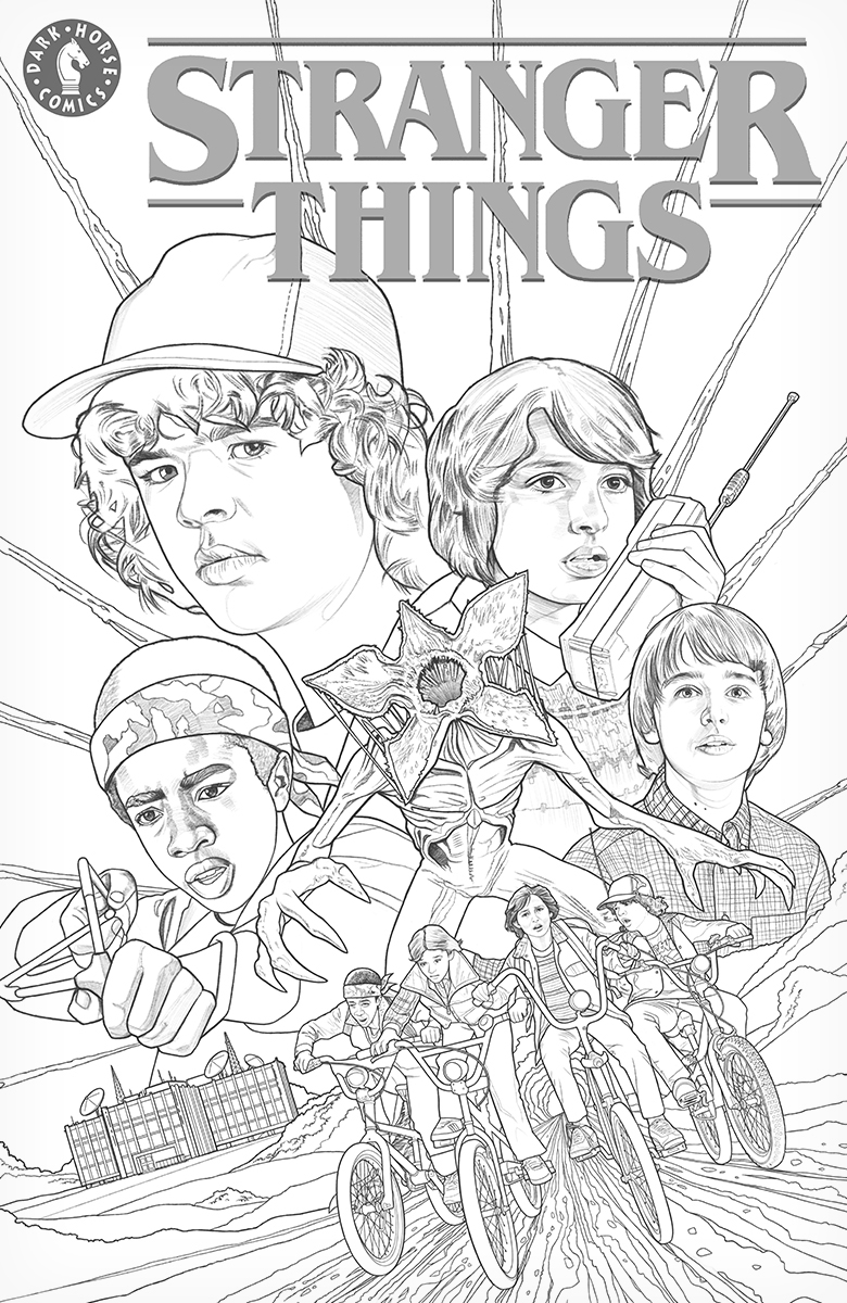 max stranger things coloring pages kyle lambert stranger things comics exclusive max coloring pages stranger things