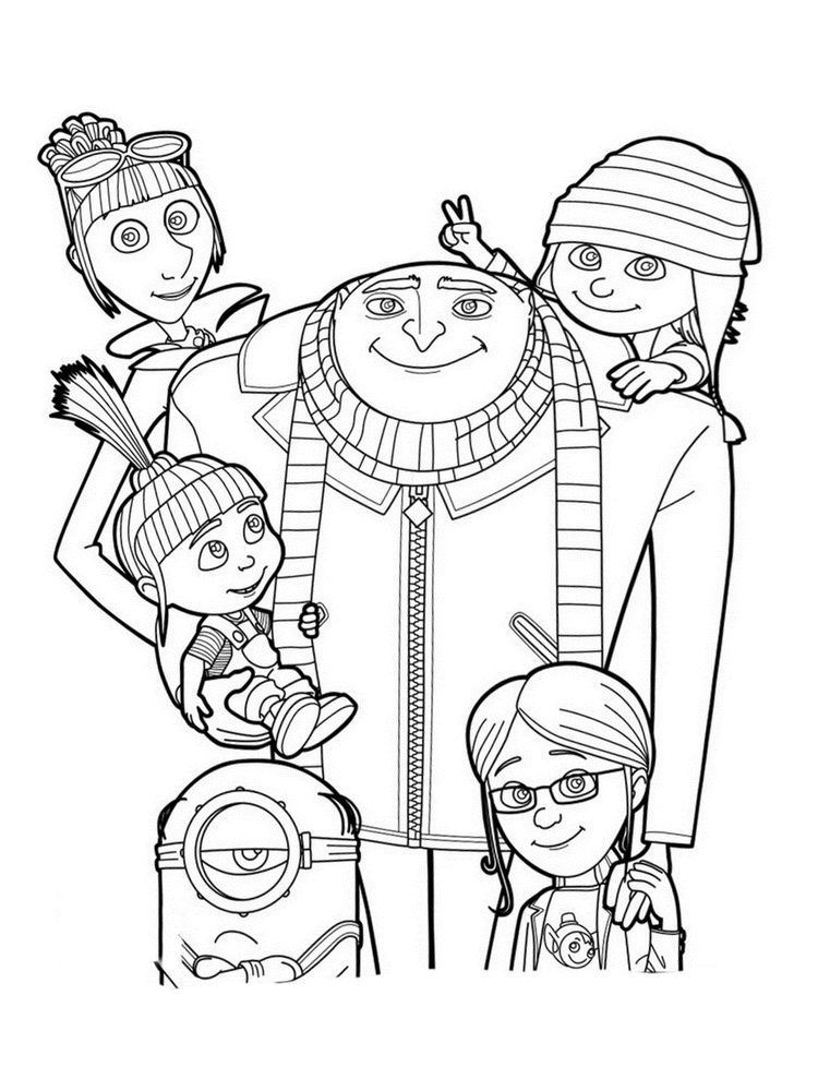 me coloring pages despicable me 3 coloring pages pages coloring me