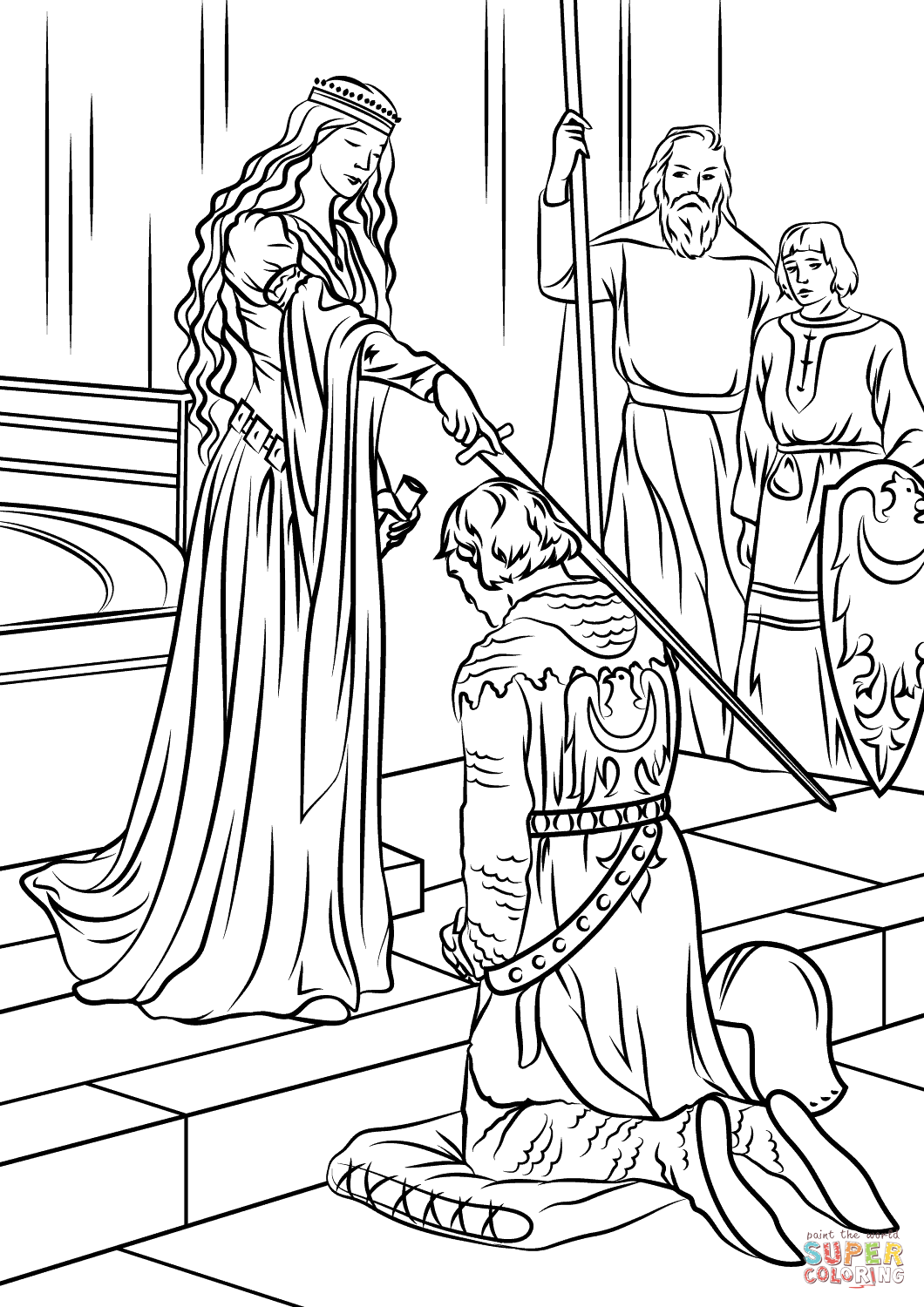 medieval coloring sheets coloring pages about the middle ages medievalistsnet sheets medieval coloring