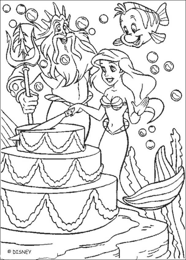 mermaid cake coloring page another mermaid cake option from httpprintncolor coloring page mermaid cake
