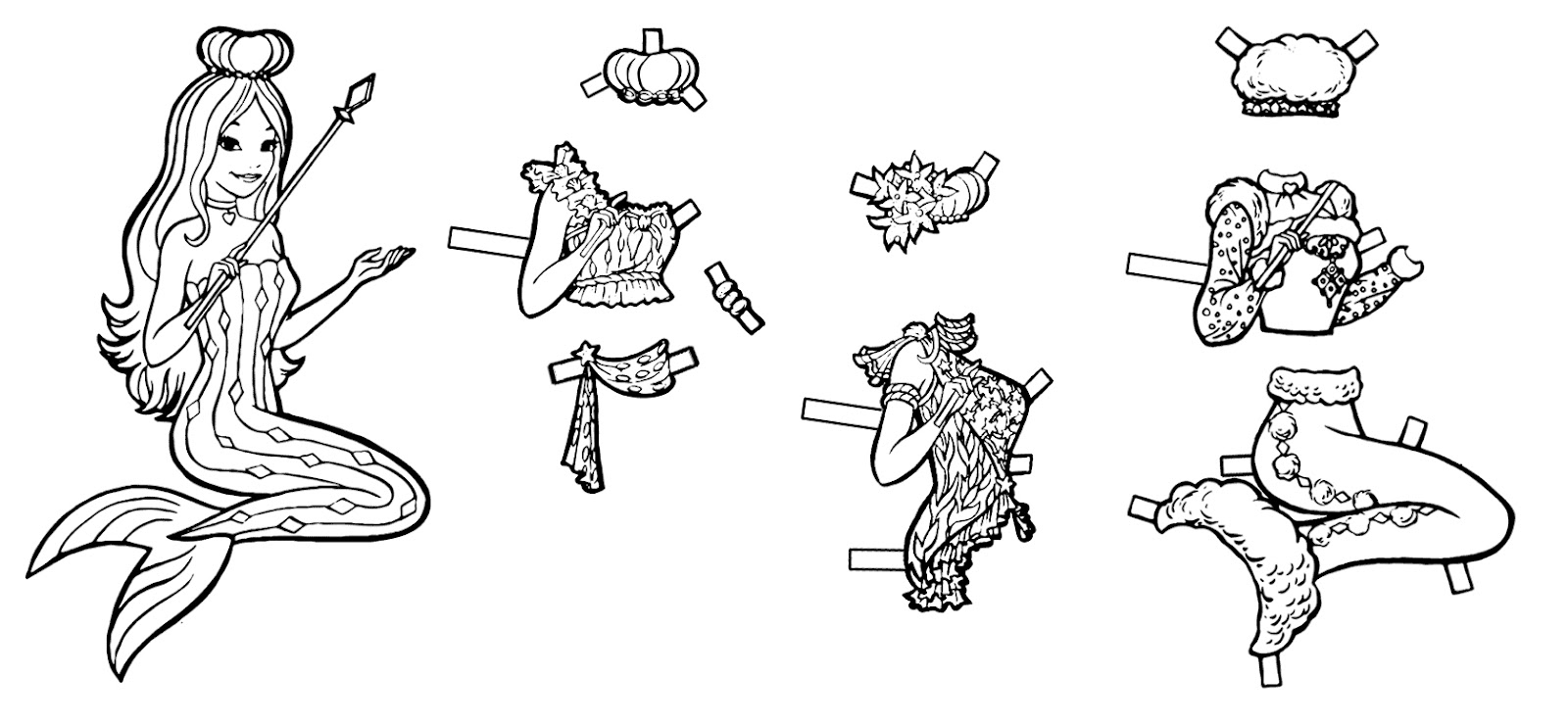mermaid paper doll coloring pages belly dancer paper doll coloring pages from www coloring paper doll pages mermaid