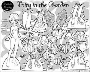 mermaid paper doll coloring pages princess mermaids paper dolls coloring page vector clip art paper coloring mermaid doll pages