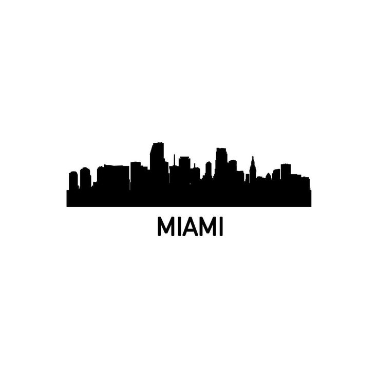 miami skyline drawing miami florida skyline 18 painting by aged pixel skyline miami drawing