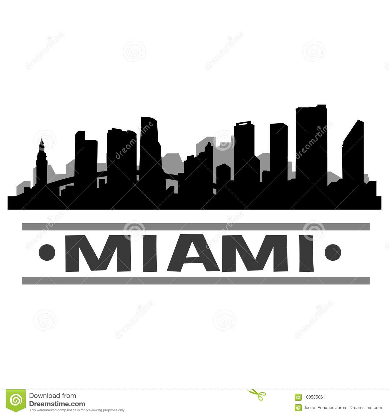 miami skyline drawing miami skyline illustrations royalty free vector graphics drawing skyline miami