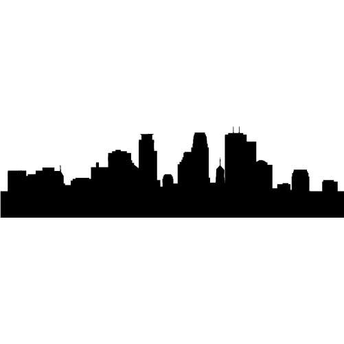 miami skyline drawing miami skyline silhouette free vector silhouettes miami skyline drawing