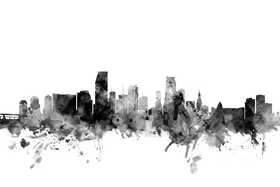 miami skyline drawing royalty free miami skyline clip art vector images skyline miami drawing