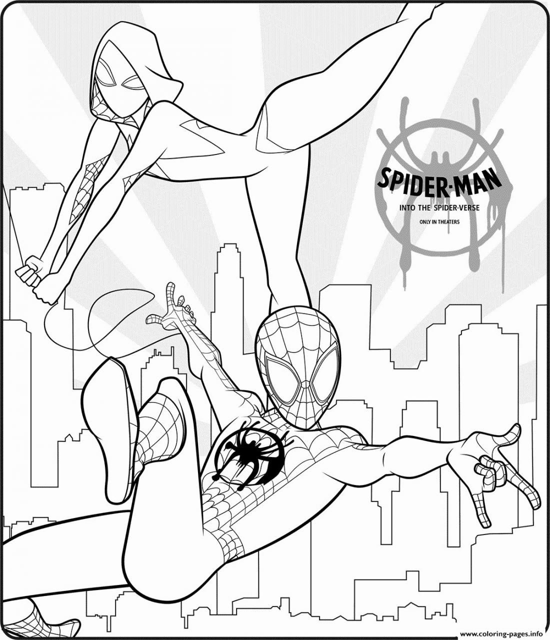 miles morales spiderman coloring page 50 wonderful spiderman coloring pages your toddler will love coloring morales miles page spiderman