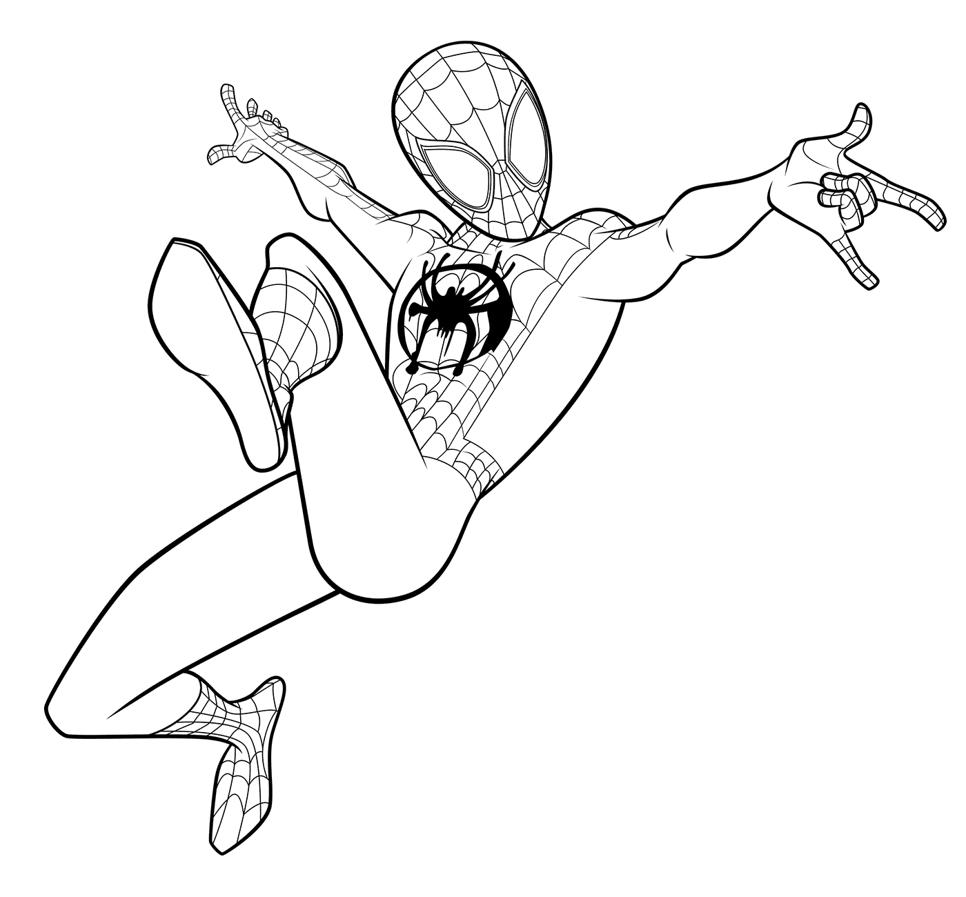 miles morales spiderman coloring page miles morales coloring pages free printable coloring pages spiderman morales coloring miles page