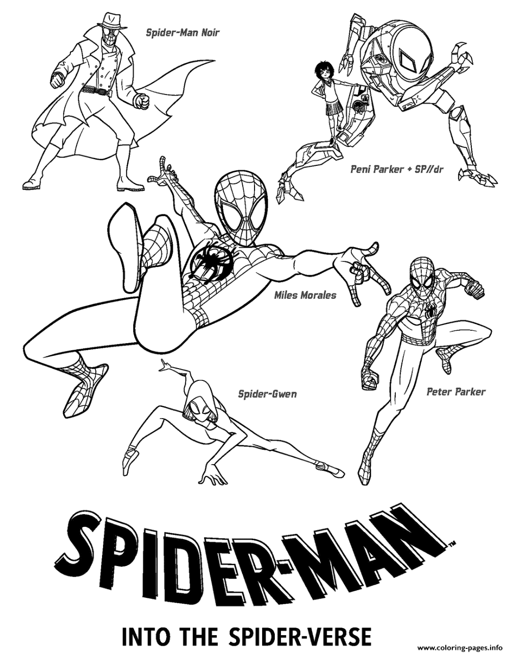 miles morales spiderman coloring page miles morales coloring pages free printable new spider man coloring page morales spiderman miles