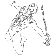 miles morales spiderman coloring page spider man miles morales coloring page google search in spiderman coloring miles page morales