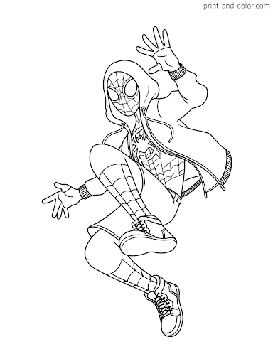 miles morales spiderman coloring page spiderman miles morales coloring pages ferrisquinlanjamal morales page miles coloring spiderman