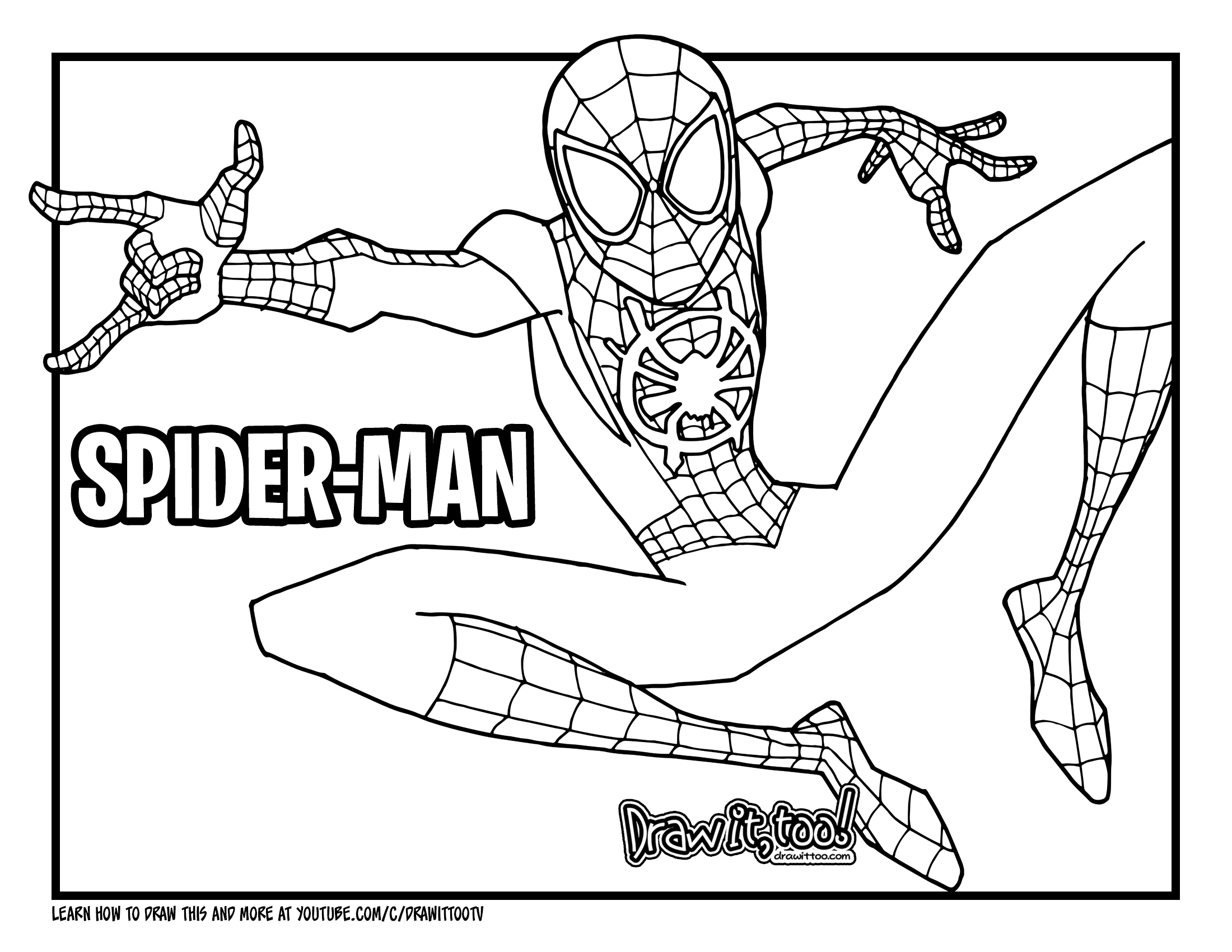 miles morales spiderman coloring page venom coloring pages for kids anti venom coloring chibi morales spiderman miles coloring page