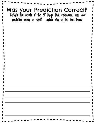 milk and food coloring experiment worksheet elf magic milk experiment coloring food experiment worksheet and milk