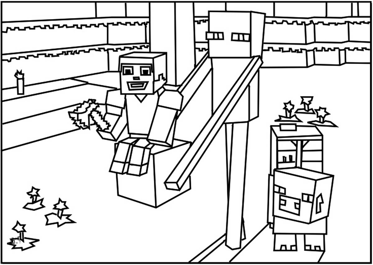 mindcraft coloring sheets minecraft coloring page coloring home mindcraft coloring sheets