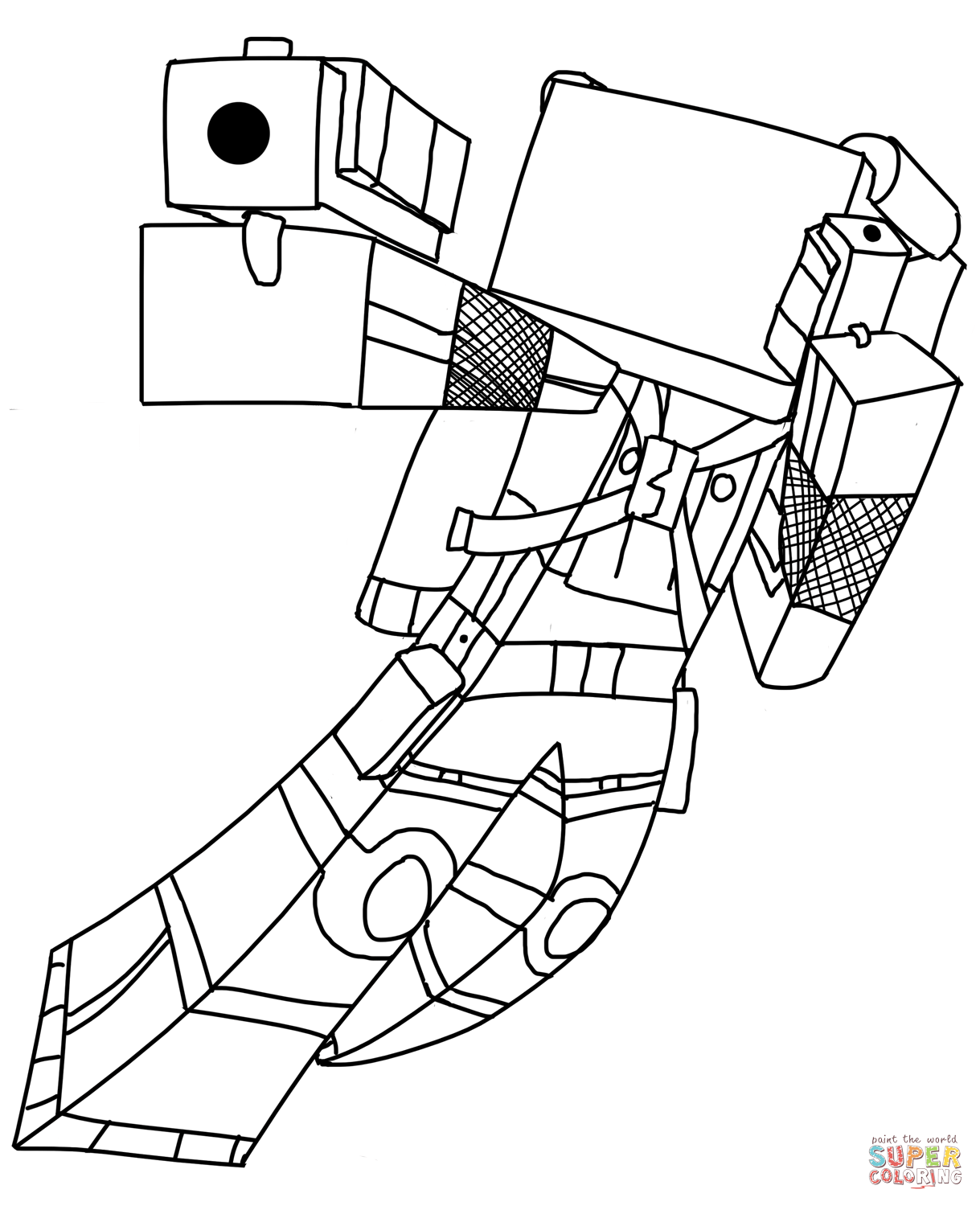 mindcraft coloring sheets minecraft coloring pages enderman at getcoloringscom sheets mindcraft coloring