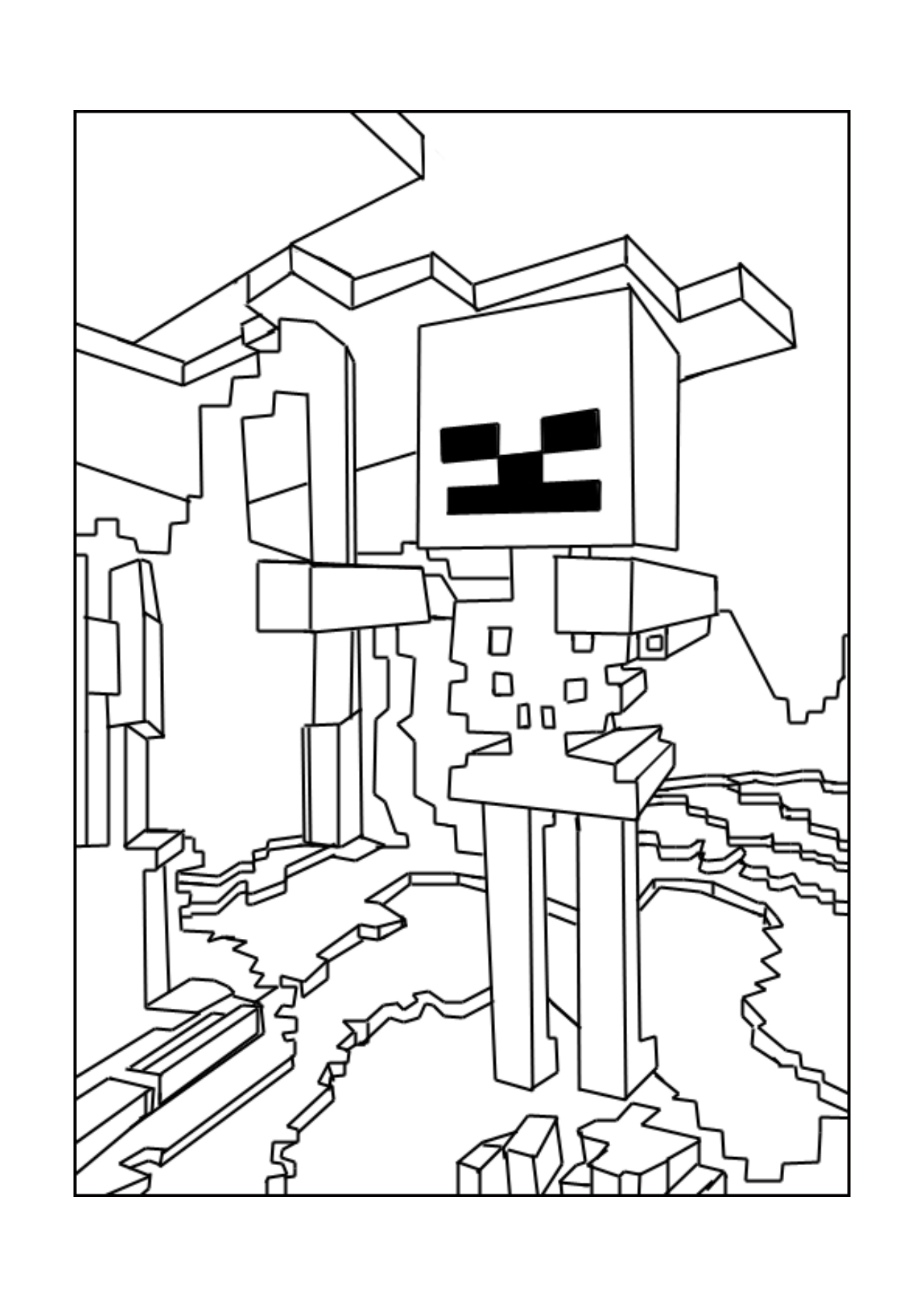 mindcraft coloring sheets minecraft coloring pages print them for free 100 mindcraft sheets coloring