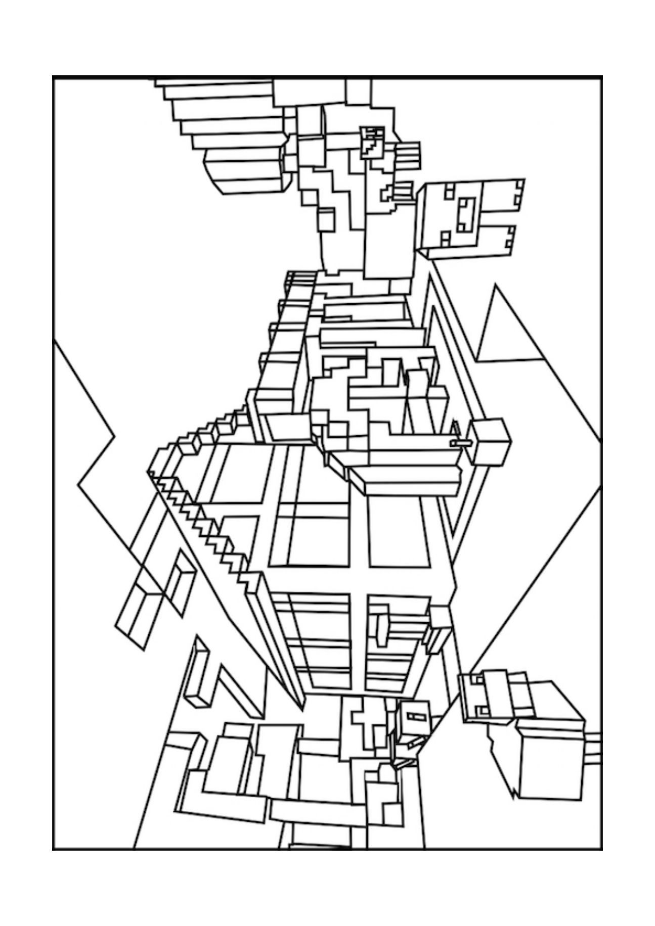 mindcraft coloring sheets minecraft mobs a minecraft coloring page for kids mindcraft sheets coloring
