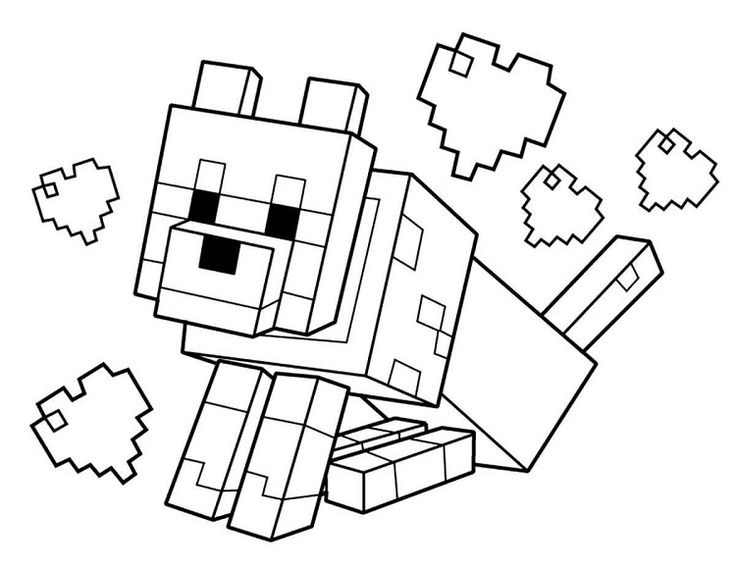 minecraft cat coloring pages free coloring page minecraft in 2020 minecraft coloring pages coloring minecraft cat