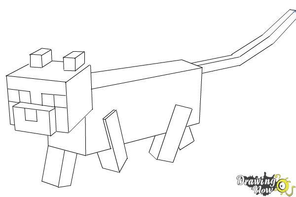 minecraft cat coloring pages minecraft coloring pages cat coloriageminecraft cat coloring pages minecraft