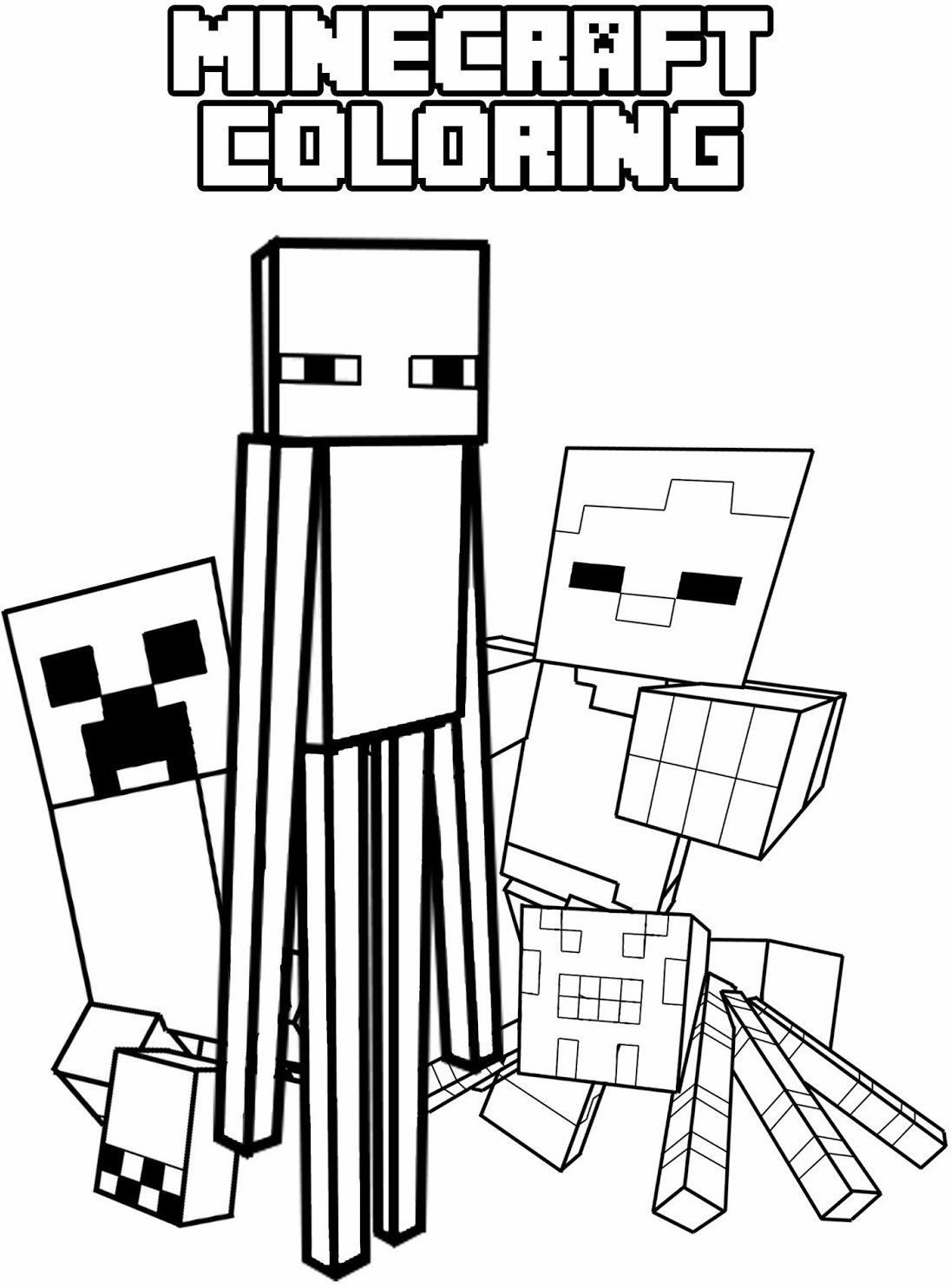 minecraft cat coloring pages minecraft coloring pages cat coloring home coloring minecraft pages cat